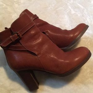 J.crew leather Booties